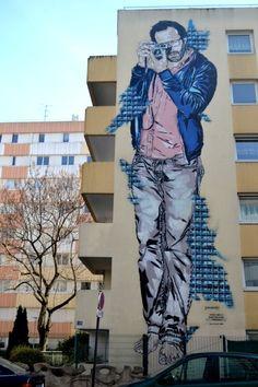 https://flic.kr/p/soyojN | Jana & JS street art - Paris XIII | Créations…