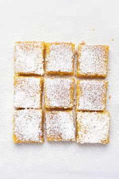 Lemon Squares, Vegetarian, Nutrition, Homemade, Snacks, Stock Photos, Baking, Breakfast, Healthy