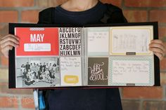 two things I'm excited about - 1. New kit coming to the shop tomorrow. - 2. Becky Higgins' Personal Yearbook Project
