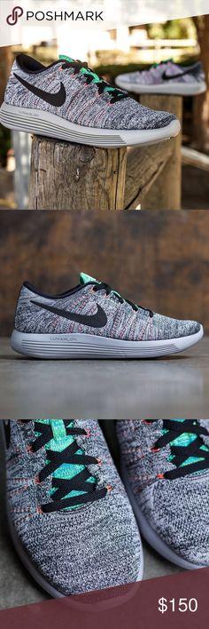 Nike LunarEpic Flyknit. Wolf Grey Bright Mango 7.5 NWT