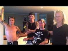 McCready, Jerry Cantrell, Duff McKagan w/ Steve Gleason  - No White Flags - much love and support