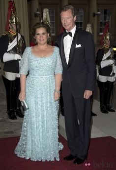 Grand Duke Henri and Grand Duchess Maria Teresa