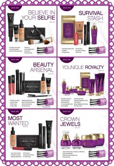 2016 Younique Fall Collections!