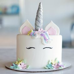 Unicorn cake (homemade) | 38 Unicorn Gifts ($38 and Under) That Add Magic to Your Kitchen | POPSUGAR Food