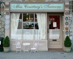 Miss Courtney's Tearooms--looks like a place I'd love to go!  Killarney, Ireland