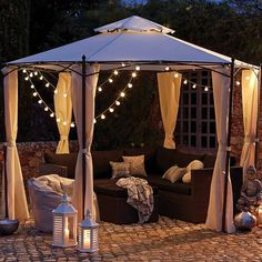 Arabian Hexagonal Gazebo | Dunelm