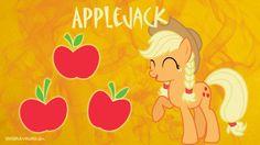 Applejack Ponytail Braids Wallpaper by brightrai.deviantart.com on @DeviantArt