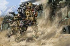 Война глазами художника Johnny Shumate