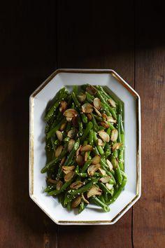 Green Bean with Crispy Garlic #myplate