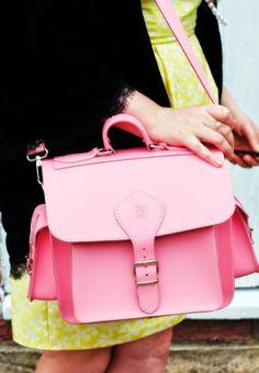 Pink camera bag by Grafea www.grafea.co.uk