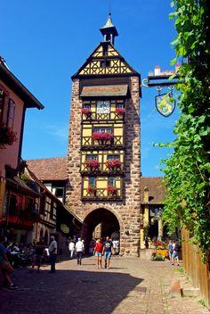 Mes bons plans pour visiter Riquewihr et passez un agréable moment à visiter un des plus beaux villages de France !  #Riquewihr #Alsace #RoutedesVins