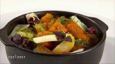 Cocotte de rognon de veau aux épices, fricassée de légumes racines de Philippe Etchebest : http://www.cuisineaz.com/recettes/cocotte-de-rognon-de-veau-aux-epices-fricassee-de-legumes-racines-85220.aspx