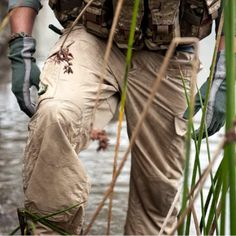 Triple Aught Design did it right with their Force 10 AC Cargo Pant. The Force 10 are lightweight, packable, quick drying, and breathable. Suitable for any environment. Best part....they have a gusseted crotch for freedom of motion.