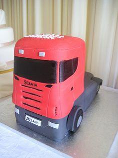 Scania Truck cake