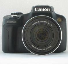 Canon recalls PowerShot SX50 HS digital cameras