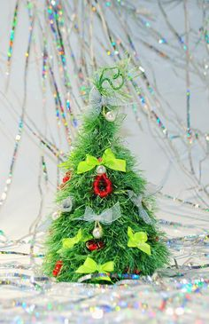 Christmas decoration New Year's gift Christmas fir by syvenir3dnru