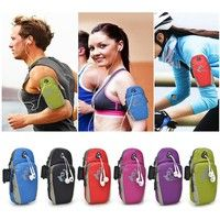 New Arrival Fashion Style Phone Bag Casual Outdoor Sports Bike Fitness Accessories Zipper Waterproof Jogging Phone Bag Mini Trendy Multifunctional Mobile Phone Arm Bag Sports & Outdoors Cell Phone Phone Bags & Cases Running Equipment High Quality Black Pink Black Red Purple Green Size:18cm*5cm*9cm