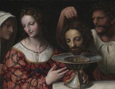Salome with the Head of St. John the Baptist  follower of Bernardino Luini (Italian, ca. 1480-ca. 1532)    Date: 16th century