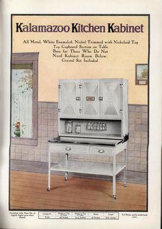 Kalamazoo Kitchen Kabinet ad. Interesting, but has there really ever ...