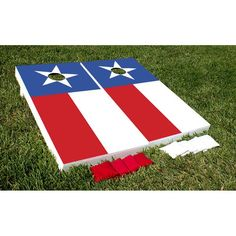 Victory Tailgate State Flag Tournament Cornhole Set - 7186