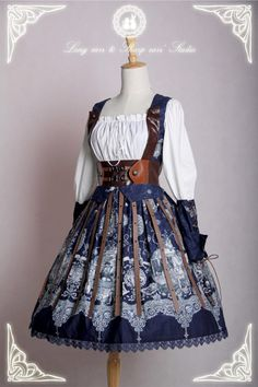 If you like [-☸-Pirate Lolita Style-☸-], [-♆-The Great Voyage Series-♆-] is for you >>> http://www.my-lolita-dress.com/newly-added-lolita-items-this-week/the-great-voyage-series-for-pirate-lolitas #PirateLolita