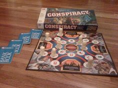 Conspiracy board game