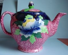 very colorful and nice teapot