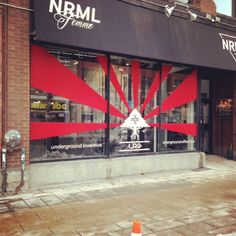 The number one shop in #Ottawa looks fresh with this new #L-R-G installation. Check their shop out http://nrml.ca/