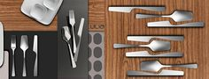 Famia – Feminine Cutlery by Mulu+Milano Design Studio | Yanko Design - http://www.incimutlu.com/
