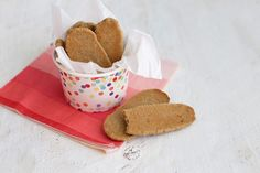 These healthy homemade teething biscuits are perfect for sore little mouths. Only 3 ingredients and they're so simple!