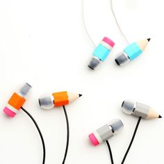 Magic Pencil Earphones by Megawing
