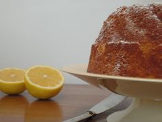 Del blog ALMA CALMA.  Receta de Torta de Citricos.