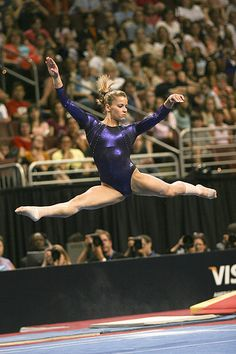 Alicia Sacramone, gymnast, women's gymnastics, WAG, floor exercise #KyFun