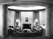 William Haines Desert Living Room design for the 1939 Golden Gate International Exposition in San Francisco. Art Deco Room, Art Deco Living Room, Art Deco Era, Room Art, Art Deco Zimmer, Vintage Interiors, Deco Interiors, Art Deco Kitchen, Streamline Moderne