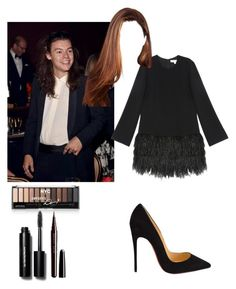 """Pre-Grammy gala with Harry 🌟"" by emma-horan-73 ❤ liked on Polyvore featuring beauty, Elizabeth and James, Christian Louboutin, Bobbi Brown Cosmetics and Marc Jacobs"