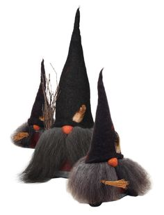 Handmade Gnome Witches