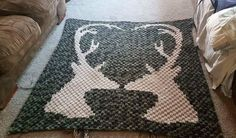 (4) Name: 'Crocheting : Deer Afghan C2C Pattern