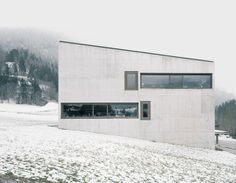 School in Paspels by Valerio Olgiati