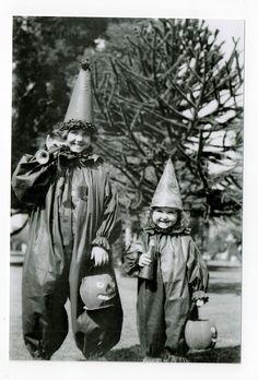 Vintage costumes...Halloween photo