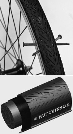 Finally, someone made these. The Acme FlatFree bicycle wheels use foam instead of air which mimic a standard tire inflated to 60 psi. #sports #bicycle #fixie #tire #design #functionality #innovation #flat #industrial #messenger