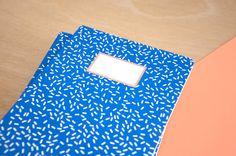 Carnet Blue - A5 - 64 Pages à lignes