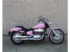 Should I custom build and paint my Shadow 750 for Kim?  I think it's a great idea if I can get a Harley! =)