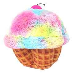 CANDYLICIOUS TIE-DYE CUPCAKE PLUSH PINK. Shop online at Candylicious! International shipping available. Cute | Ombre | Colourful | Delicious | Candy