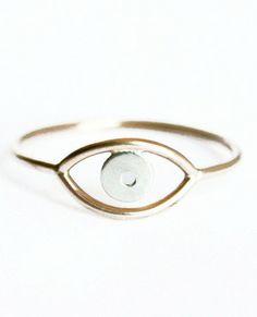 All Seeing Eye Ring