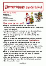 Gezelschapsspel: Sint ganzenbord 3 Family Games, Games For Kids, Diy For Kids, Father Christmas, Kids Christmas, St Nicholas Day, Speech Language Therapy, Lets Do It, What To Make