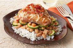 Skillet Chicken & Zucchini recipe