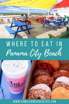 One of my favorite things to do in Panama City Beach in Florida is to explore the dining scene, especially when the weather isn't great. Click thought to find out where to eat in Panama City Beach, and other bad weather activities. Beach Vacation Tips, Best Island Vacation, Florida Vacation, Florida Travel, Beach Trip, Usa Travel, Travel Tips, Beach Vacations, Beach Hotels
