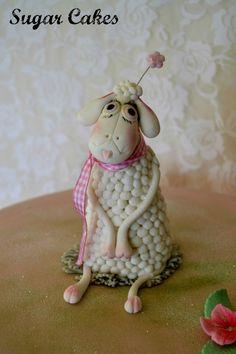 Handmade figurine for a baby shower @ Sugar Cakes studio........x
