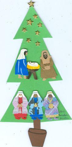 Ariadna. 1r ESO. curs 2017-18. Advent Calendar, Triangle, Holiday Decor, Home Decor, Homemade Home Decor, Decoration Home, Interior Decorating