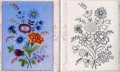 Materiales gráficos Gaby: Plantillas varias para bordar flores